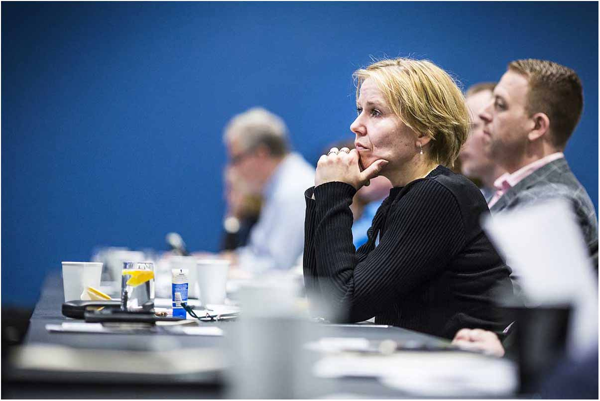 billeder fra konference i Skjern