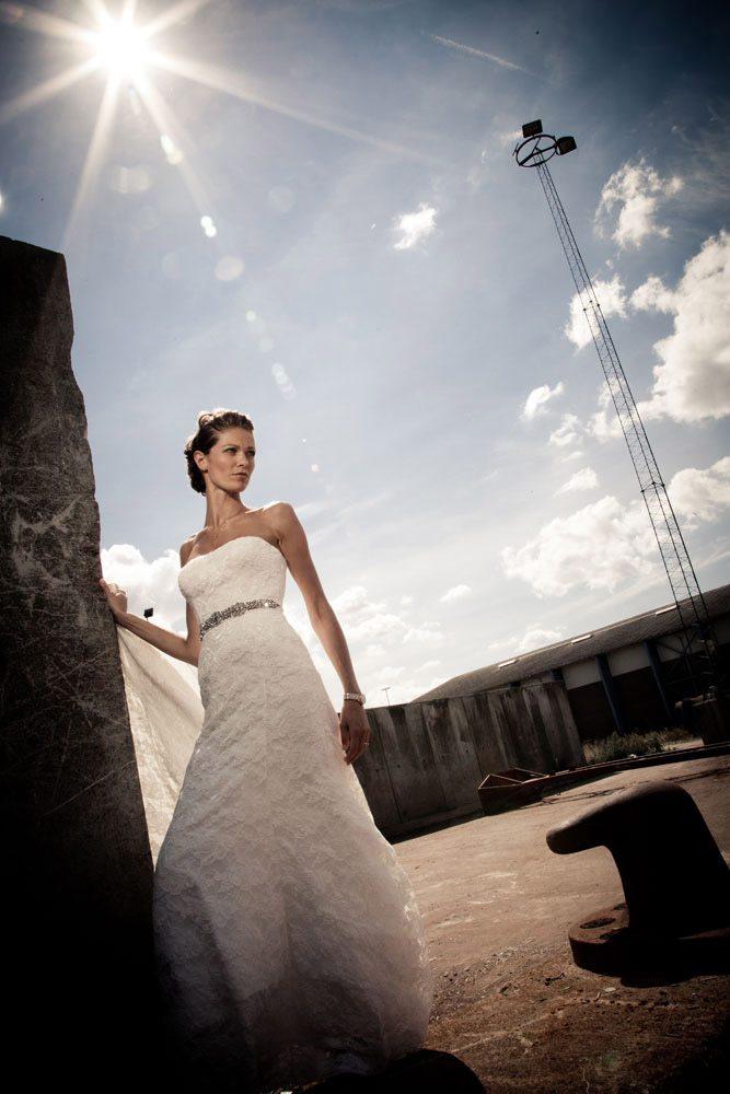 Bryllupsfoto i Saltum