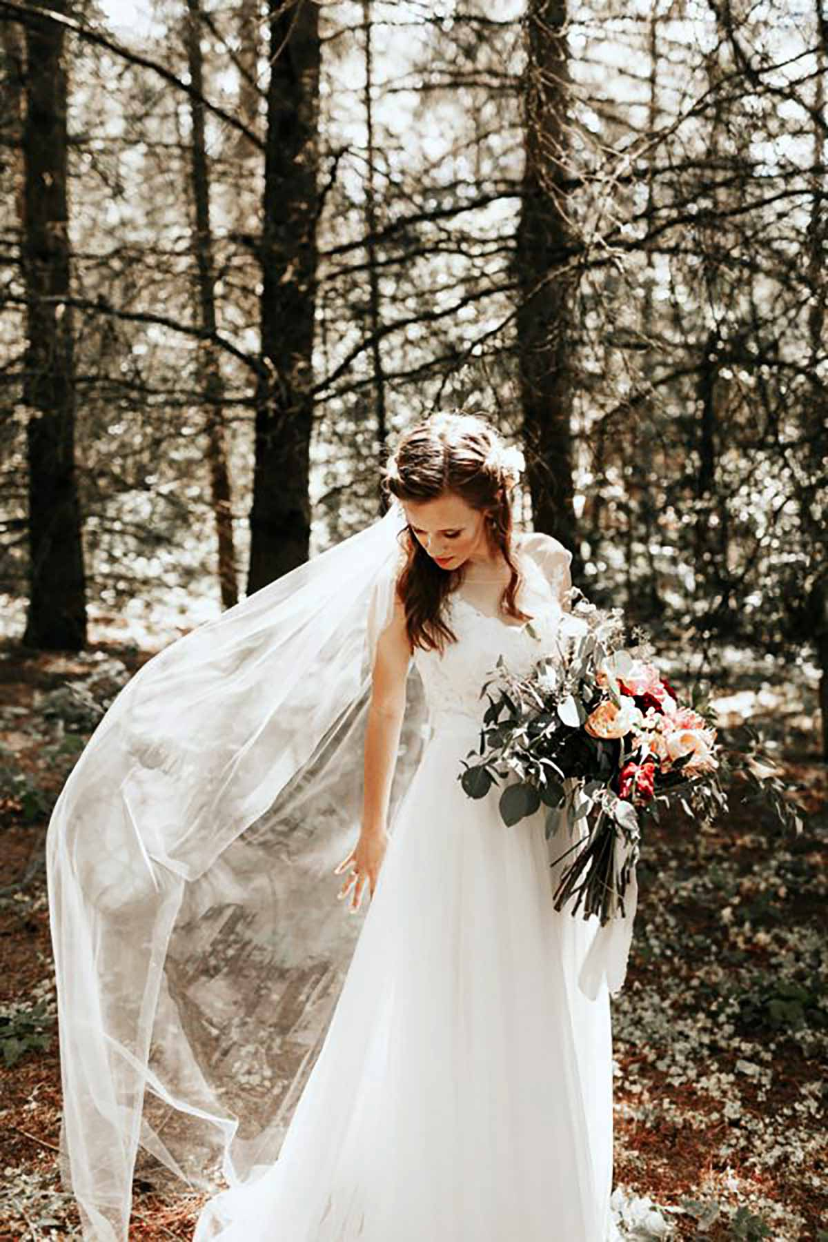 bruden i skov Randers