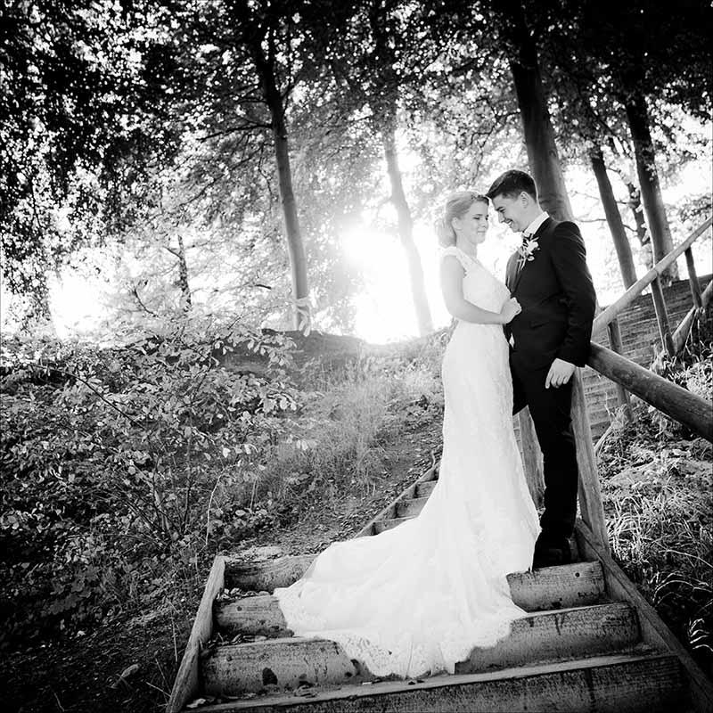 bryllupsbilleder ved Marselisborg