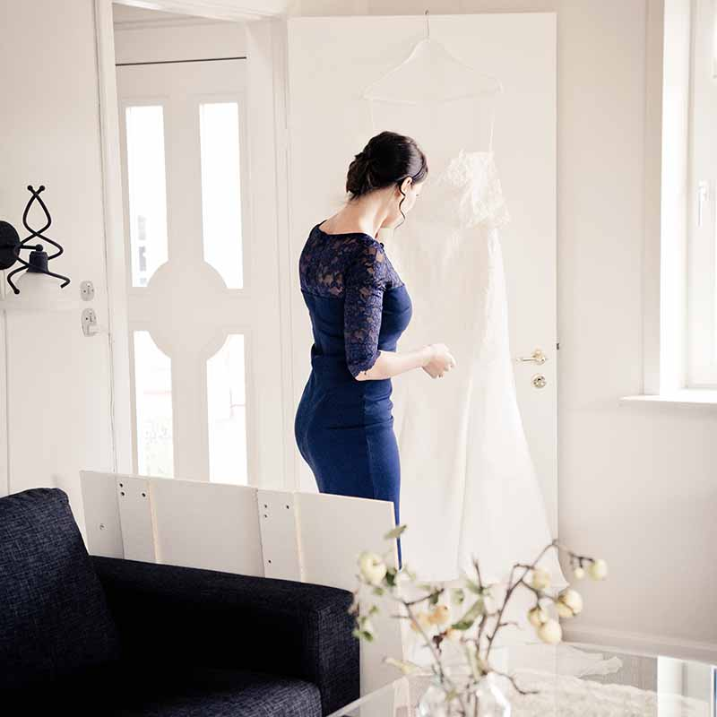 bryllupsfotograf pris Randers